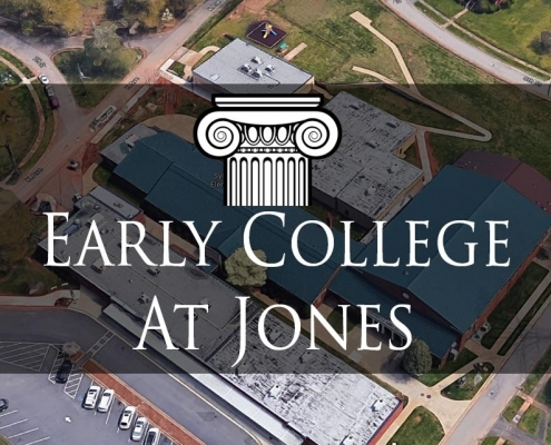 Early College Jones Logo
