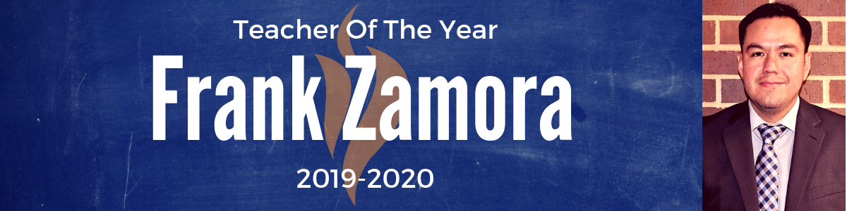 2019-20 Teacher of The Year